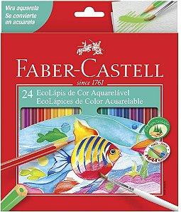 Ecolapis Cor C/24 Aquarelavel - Faber Castell