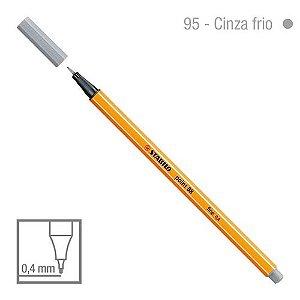 Caneta Point 88/95 0,4mm Cinza Frio - Stabilo