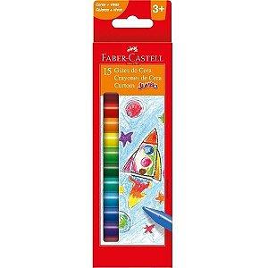 Giz Cera C/15 Curtom - Faber Castell