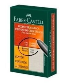 Gizao Cera C/12 Estaca Az Cobalto - Faber Caste
