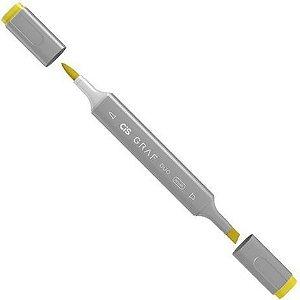 Marcador Graf Duo Brush 34 Yellow - Cis