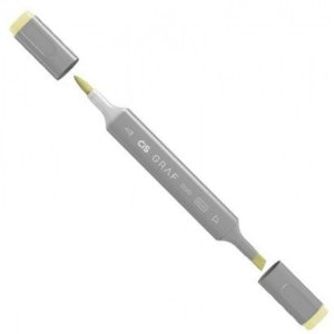 Marcador Graf Duo Brush 37 Pastel Yellow - Cis