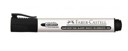 Marcador Quadro Bco Recar Preto - Faber Castell