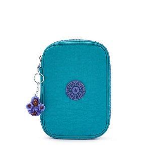 Estojo 100 Pens Fresh Turquoise - Kipling