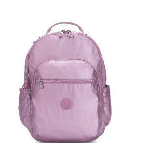 Mochila Costas Seoul Berry Sea Metallic - Kipling