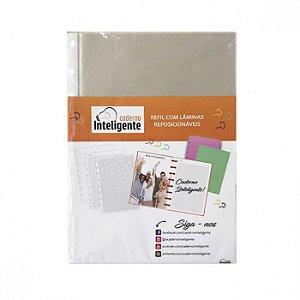Bolsa Plastica Medio C/5 Transparente - Caderno In
