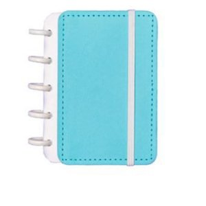 Caderno Inteligente Pequeno Azul Celeste-caderno I
