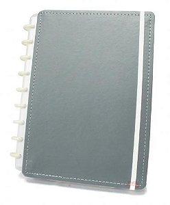 Caderno Inteligente Medio Cinza-caderno Inteligent