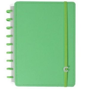 Caderno Inteligente Medio All Green - Caderno Inte
