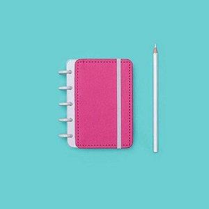 Caderno Inteligente Pequeno Rosa Choque-caderno In