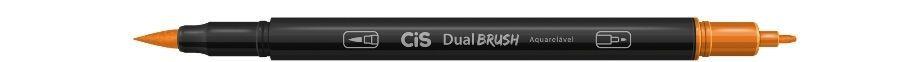 Marcador Dual Brush Aquarelavel 18 Laranja Esc-cis