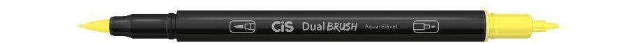 Marcador Dual Brush Aquarelavel 26 Amarelo Cl -cis