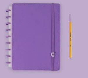 Caderno Inteligente Medio All Purple - Caderno Int