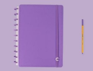 Caderno Inteligente Grande All Purple - Caderno In