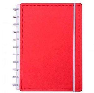 Caderno Inteligente Grande Vermelho Cereja-caderno