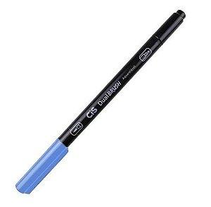 Marcador Dual Brush Aquarelavel 52 Az Celeste -cis