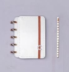 Caderno Inteligente Pequeno All White-caderno Inte