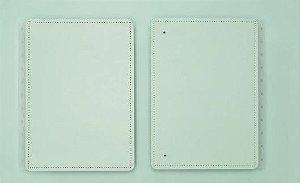 Capa E Contracapa Medio Pastel Verde-caderno Intel