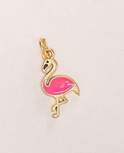 Pingente Flamingo - Caderno Inteligente