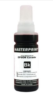 Tinta Refil 100ml Epson Black - Masterprint
