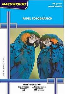 Papel Fotografico A4 180g 20f Imperm - Masterprint