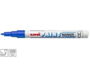 Marcador Permanente 1.2mm Paint Azul - Uni Ball