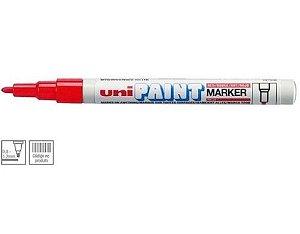 Marcador Permanente 1.2mm Paint Vermelho- Uni Ball