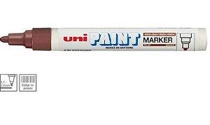 Marcador Permanente 2,8mm Paint Marrom - Uni Ball