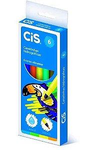 Estojo Caneta Hidrocor C/6 Sortida - Cis