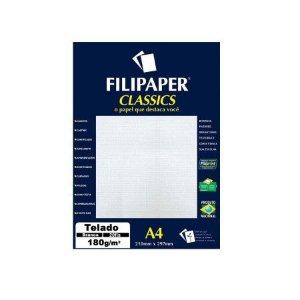 Papel A4 180g 20f Decor Bastonete Rs/br -filipaper