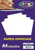 Papel Couche Branco A4 170g 50fls - Off Paper