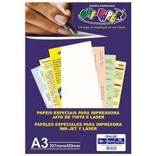 Papel A3 180g 50fls Opaline Branco - Off Paper
