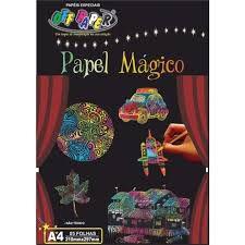 Papel Magico A4 5fls C/bastao  - Off Paper