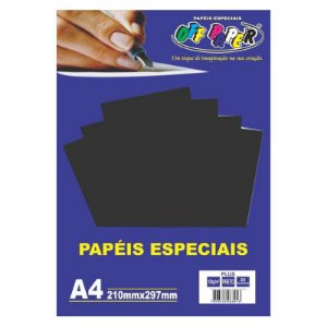 Papel A4 120g 20fls Plus Preto - Off Paper