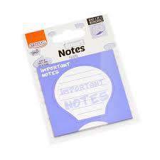 Bloco Anotacao 75x75mm 30f 2 Em 1 Frame Notes -brw