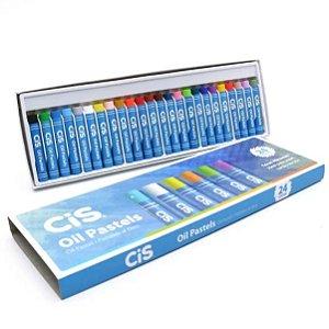 Estojo Giz C/24 Oil Pastels - Cis