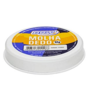Molha Dedo 12g Plastico - Brw