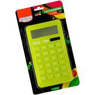 Calculadora 10 Digitos Grande Neon Verde - Brw