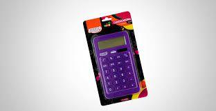 Calculadora 10 Digitos Grande Neon Roxo - Brw