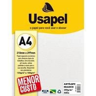 Papel  A4 180g/m2 50f Antiloope Bco - Usapel