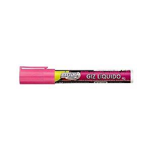 Giz Liquido 4g 6mm Rosa - Brw