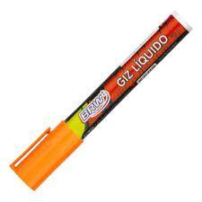Giz Liquido 4g 6mm Laranja - Brw