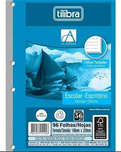 Caderno Esp Cd 1/4 96f Tiliflex Academie - Tilibra
