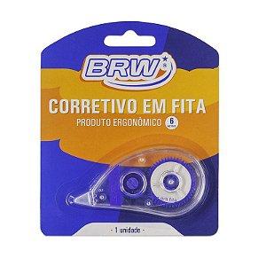 Fita Corretiva 5mmx6m Blister - Brw