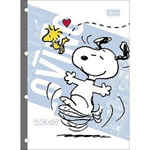Caderno Esp Cd Univ 80f Tiliflex Snoopy - Tilibra