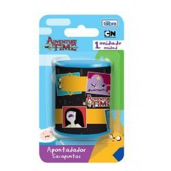 Apontador 2 Furos Adventure Time - Tilibra