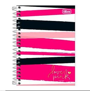 Caderneta Esp Cd 1/8 80f Love Pink - Tilibra
