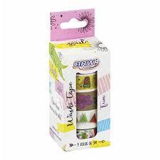 Fita Adesiva C/5 15mmx5m Washi Tape Fun - Brw