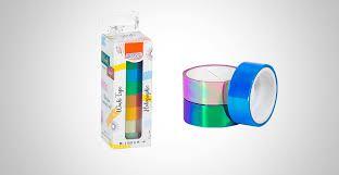 Fita Adesiva C/8 15mmx5m Washi Tape Holograph -brw