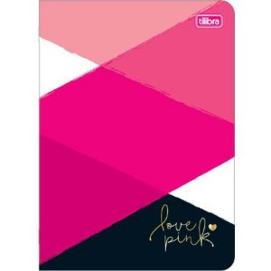 Caderno Broc 32f Love Pink - Tilibra